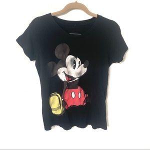 DISNEY | faded graphic Mickey Mouse tee